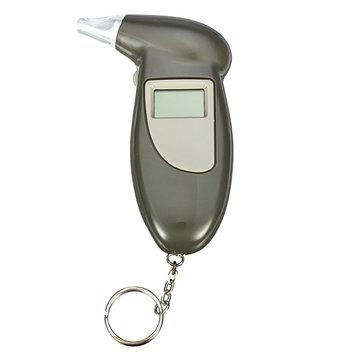 Digital Key Chain Alcohol Breath Analyze Tester Breathalyzer Detector