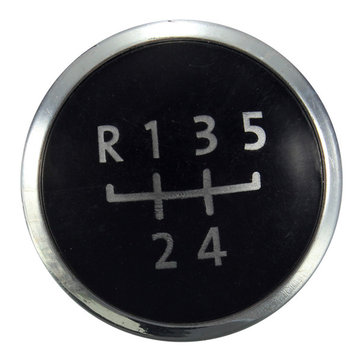 5 Speed Gear Knob Emblem Cap Covers for Volkswagen Transporter T5 / T5.1 Gp
