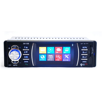 3.6 Inch TFT HD Digital Car MP5 Player 12V MP4 APE MP3 Player Support Rear Camera Car Reverse USB/SD Support