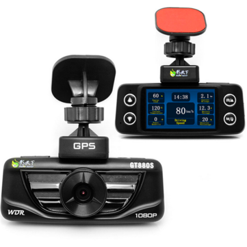 GT880S Car DVR Camera Video Recorder 1080P High Resolution OBD GPS