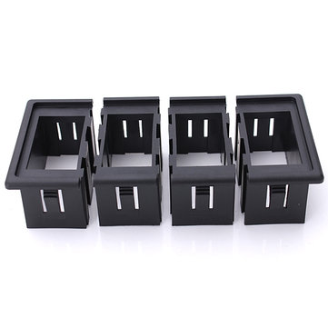 4 Plastic Rocker Switch Clip Panel Holder Housing ARB Carling Type