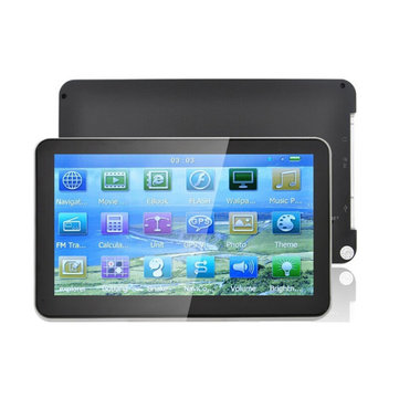 Vehicle GPS Navigation 7 Inch MSB2531 128MB 533MHZ 4G RAM Windows CE6.0