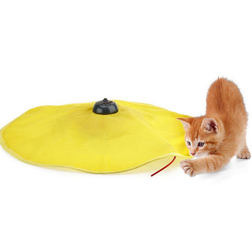 Undercover Mouse 고양이의 야옹 대화식 전자 고양이 장난감