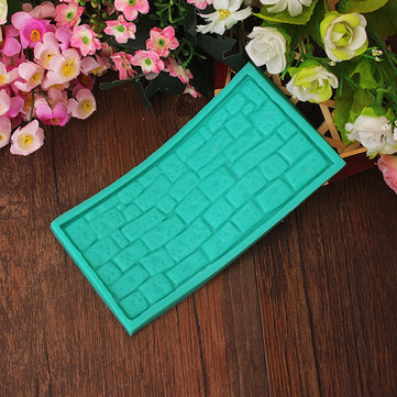 Brick Fondant Cake Mold Silicone Cake Decoration Mould