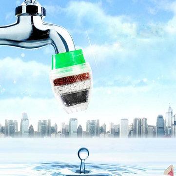 Robinet de cuisine carbone l'eau du robinet propre purificateur filtre cartouche