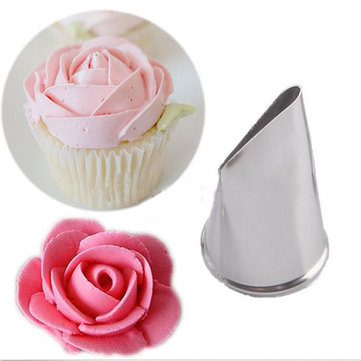 Stainless Steel Icing Piping Nozzles Cup Cake Fondant Cake Decorating Pastry Tool