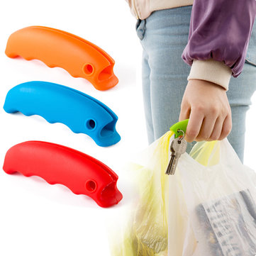 Silicone Candy Color Portable Vegetables Device Labor Saving Bag Holder