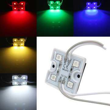 1pcs LED Module Waterproof SMD 5050 12V Red/Green/Blue For Billboard