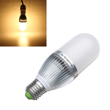E27 11W Warm White 900-1000LM 3528 SMD 54-LED Corn Bulbs AC 100-250V