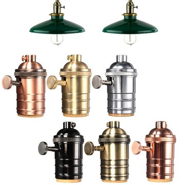 E27 Light Socket Vintage Edison Pendant