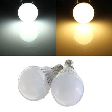 E14 1.8 วัตต์ LED หลอดไฟ SMD 2835 หลอดประหยัดไฟประหยัดพลังงานสีขาว / อุ่นสีขาว AC 220V