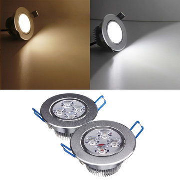 4W Dimmable Bright LED Recessed Ceiling Down Light 85-265V