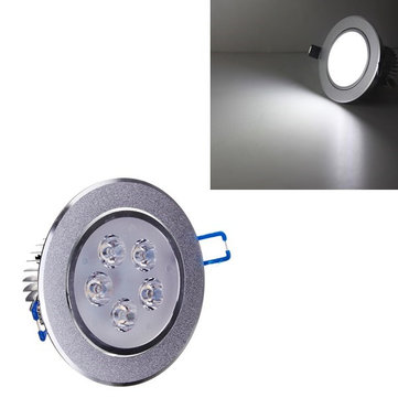 5W Bright LED Recessed Ceiling Down Light 85-265V Cool White