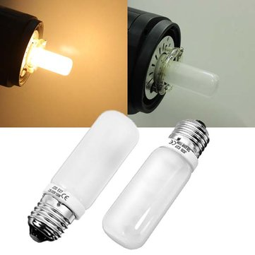 E27 150W Warm White Studio Modeling Strobe Flashlight Lamp Bulb 220V