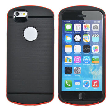 Unique Hybrid TPU Frame Bumper PC Cover Case For iPhone 6 Plus