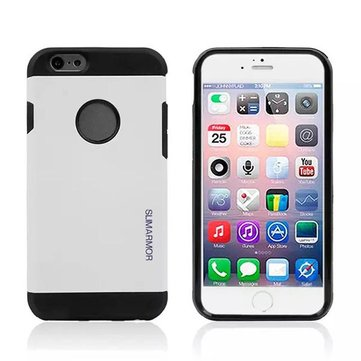 Double Color Armor TPU PC Hybrid Back Cover Case For iPhone 6