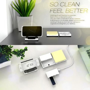 Monthings Card Reader Stand Docking Desktop Accessories For iPhone