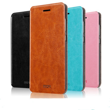 Mofi New Rui Series Flip Open PU Leather Case For Lenovo A768T