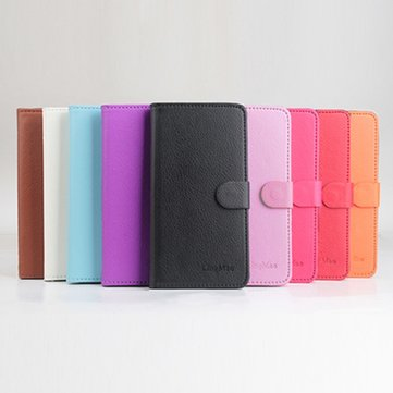 Flip Wallet Style Leather Case Cover For Micromax Unite 3 Q372