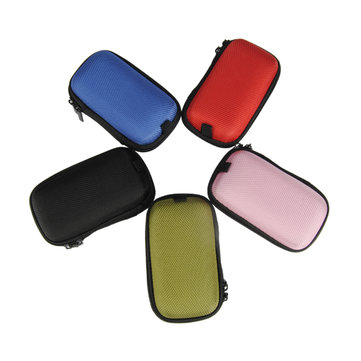 Colorful Hold Case Storage Carrying Hard Bag Case for Earphone Cable