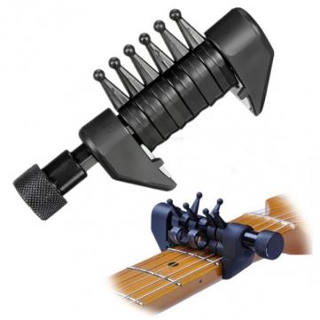 Multifunción guitarra cuerdas de la guitarra capo acorde de la guitarra tono de capo