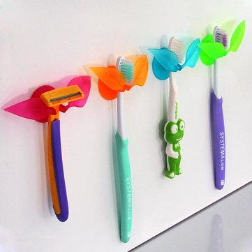 Aspirazione multifunzione forma di foglia spazzolino titolare articoli vari rasoio