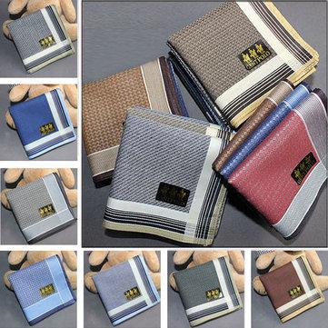 Soft Cotton Upscale Boutique Men Women Handkerchief Pocket Hanky