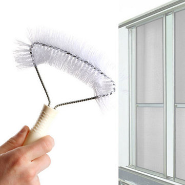 Screens Window Cleaning Brush Anti-mosquito Net Brush Window Cleaner