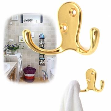 Stainless Steel Wall Mounted Coat Clothes Hanger Towel Holder Door Hook
