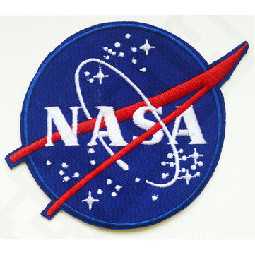 Logo Embroidered NASA Pattern Patch Sew On Patch Badge Mend T-Shirt