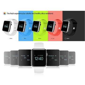 Smart Watch Reloj de pulsera Sport Watch para Iphone Samsung HTC Phone