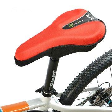 Fietszadel Cover Bike Seat Kussen 3D Gel Pad Reflecterende Staart
