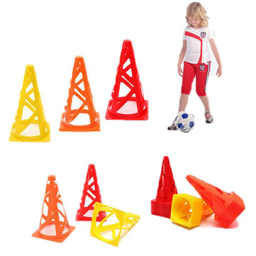 12 stuks 9 inch voetbal Trainings Cones Fitness Agility Field