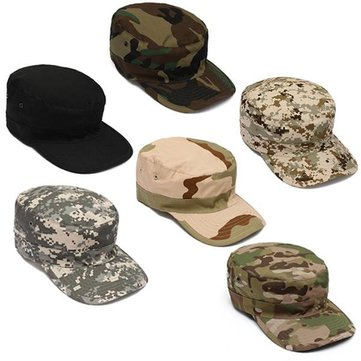 Camouflage Camo Army Outdoor Sun Sports Hiking Snapback Hat Cap