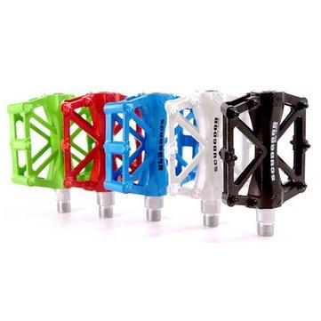 Alluminio scudgood lega bicicletta pedali della bici due cuscinetti multicolore