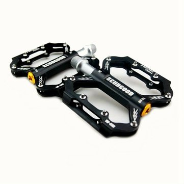 SCUDGOOD Triple Bearing Aluminum Alloy CNC Bicycle Pedal Road MTB Bike