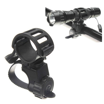 360 Bicicleta Bicicleta Lanterna Torch Mount Holder Light Holder Clip