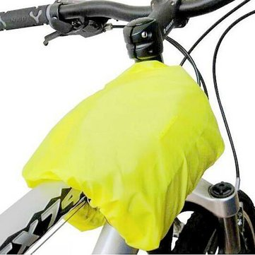 Mountain Race Bicycle Seat Pack Bag Saddle Pannier Rear Rain Cover