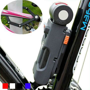 ANTUSI X5 Foldable Bicycle Lock Anti Theft Anti-Hydraulic Shear 6 Fold Bike