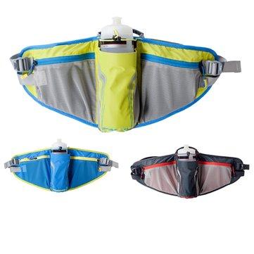 Bolso de la cintura ROSWHEEL cinturón acampar botella de agua de la bicicleta deportes riñonera riñonera para los hombres y mujeres ultraligeros