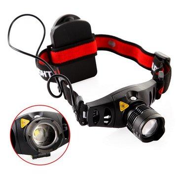 Q5 LED ไฟหน้าไฟส่องสว่างไฟหน้าแบบ Zoomable Headlight