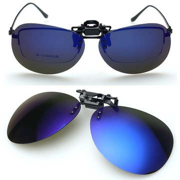 Polarized Sun Glassess Clip Sun Glassess Driving Night Vision Goggles