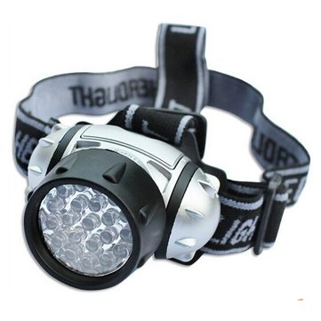 19-LED Headlight 19 LEDs Bulb 4-Mode Headlamp Flashlight Torch Lamp