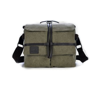 Men Casual Canvas Multi-use Camera Bag Messenger Shoulder Bags