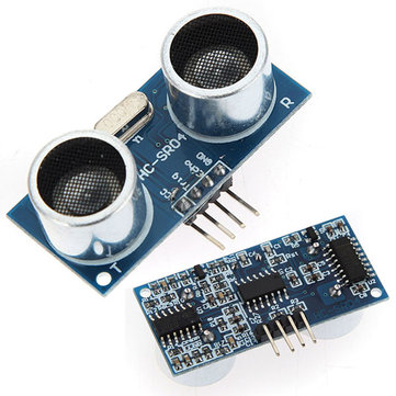 10Pcs Geekcreit® Ultrasonic Module HC-SR04 Distance Measuring Ranging Transducer Sensor DC5V 2-450cm