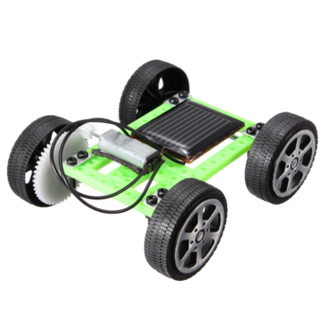Solar DIY Gadget Car Mini Puzzle IQ Educational Toys