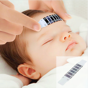 Baby Forehead Strip Thermometer Fever Temperature Test