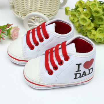 Baby New Born Boy Girl Soft Sole Toddler Canvas First Walker Shoes