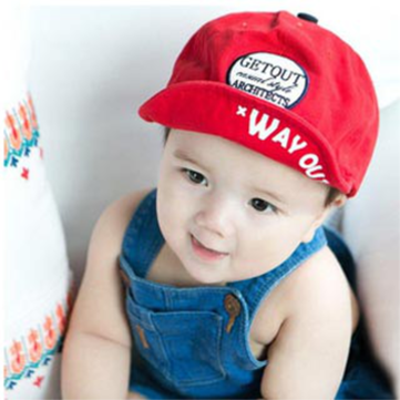 Baby Children Letters Along Folding Soft Baseball Cap