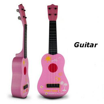 أطفال أطفال محاكاة الغيتار ألعاب تعليمية 4 سلسلة الصوتية التنموية الموسيقية